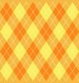 argyle fall seamless pattern plaid vector image