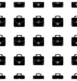 Bag Silhouette Seamless Pattern vector image vector image