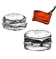 Burgers vector image vector image