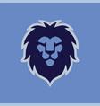 lion head modern logo template vector image vector image