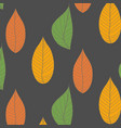 organic wallpaper with a pattern of green leaves vector image
