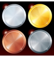 Round Plates vector image