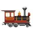 Old train vector image