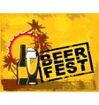 beer fest vector image vector image