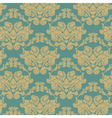 Damask elegant flower ornament pattern vector image vector image