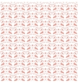 Lace white seamless mesh pattern vector image