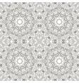 seamless mandala seamless coloring oriental vector image