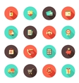 Shopping E-commerce Icons vector image