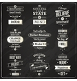 Success Quotes Chalkboard vector image