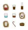 Coffee icon3 vector image vector image