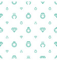 expensive icons pattern seamless white background vector image vector image