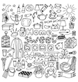 Hand drawn Home set vector image vector image