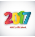 Happy new Year celebration vector image