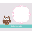 owl baby vector image vector image