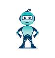 playful robo vector image