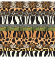 Safari pattern background vector | Price: 1 Credit (USD $1)