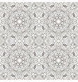 seamless mandala seamless oriental pattern doodle vector image