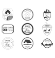 Set of retro badges and label logo graphics vector image vector image