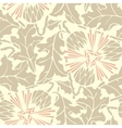 Vintage Seamless floral linen pattern vector image vector image