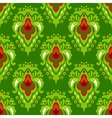 Damask plant seamless pattern vector image