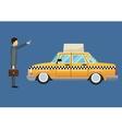 cab car passenger user service public vector image
