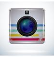 Camerametal vector image vector image