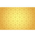 golden lines seamless pattern vector image vector image