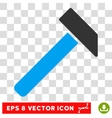 Hammer Eps Icon vector image vector image
