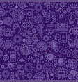 line seamless pattern vector image vector image