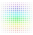 prenatal shape halftone spectrum pattern vector image vector image