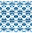 Seamless ornamental oriental pattern vector image