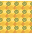 Seamless pattern with round doodle elements vector image vector image