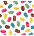 Seamless pattern with tasty donuts vector image vector image