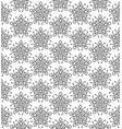 subtle geometric ornament seamless pattern vector image