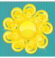 summer glossy vector image vector image
