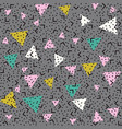 Abstract pattern background with pink white and vector image