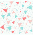 colorful abstract pattern with pink red and blue vector image vector image