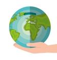 global economy world savings vector image