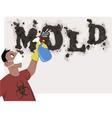 Killing mold vector image vector image