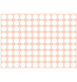 orange colored background vector image vector image