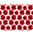 Red roses background vector image
