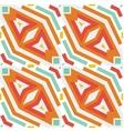 Seamless geometric rhombus vector image vector image