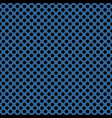 tile pattern with black polka dots on navy blue vector image vector image