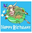 Taurus is the 2nd sign of zodiac vector image