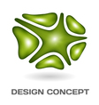Abstract design concept vector image vector image