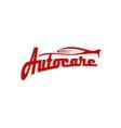 auto care logo design concept