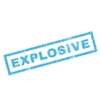 Explosive Rubber Stamp vector image vector image