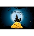 Grungy Halloween Party Background vector image vector image