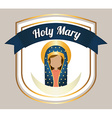 holy mary vector image vector image