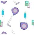 Measurement pattern cartoon style vector image vector image